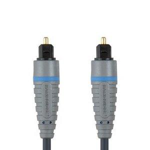 Bandridge Digitale Audiokabel TosLink Male - TosLink Male 1.00 m Blauw