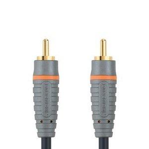 Bandridge Digitale Audiokabel RCA Male - RCA Male 5.00 m Blauw