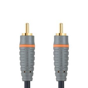 Bandridge Digitale Audiokabel RCA Male - RCA Male 2.00 m Blauw