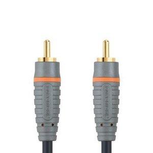 Bandridge Digitale Audiokabel RCA Male - RCA Male 1.00 m Blauw