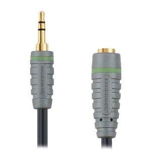 Bandridge Stereo Audio Verlengkabel 3.5 mm Male - 3.5 mm Female 2.00 m Blauw