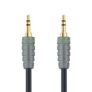 Bandridge Stereo Audiokabel 3.5 mm Male - 3.5 mm Male 2.00 m Blauw