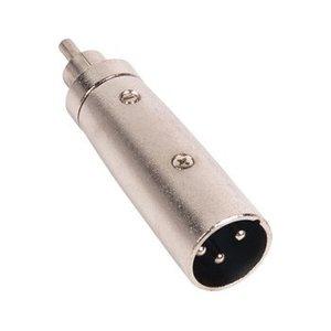 Valueline XLR Adapter XLR 3-Pins Male - RCA Male Zilver