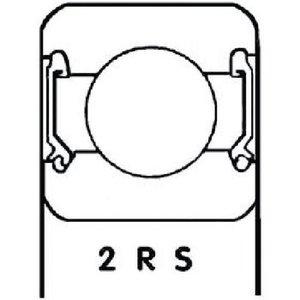 S.K.F. Lager Origineel Onderdeelnummer 6306 2RS1