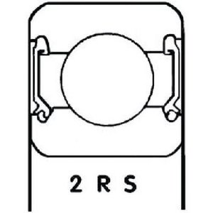 S.K.F. Lager Origineel Onderdeelnummer 6202 2RS1-C3