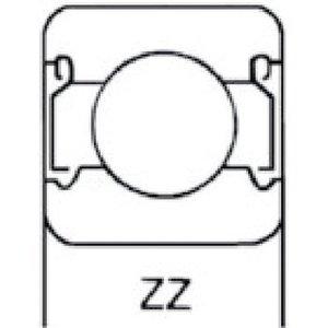 HQ Ball Bearing - 6204 ZZ