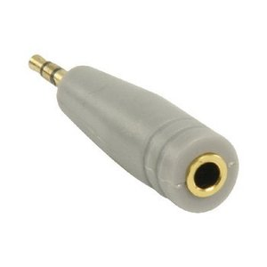 Bandridge Stereo Audio Adapter 2.5 mm Male - 3.5 mm Female Grijs