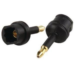 Valueline Digitale Audio Adapter Optische 3.5mm-Connector - TosLink Female Zwart