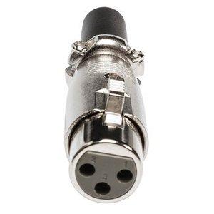 Valueline Connector XLR 3-Pin Female Metaal Zilver