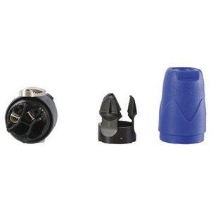 Neutrik Connector Speaker Male PVC Zwart