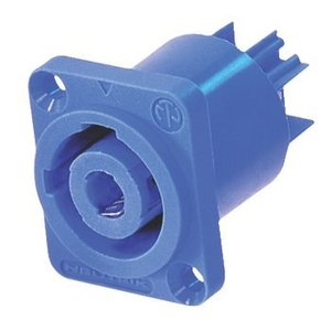 Neutrik Connector Speaker Female PVC Blauw