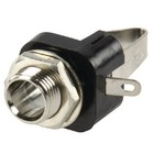 Lumberg Stereoconnector 6.35 mm Female Metaal Zilver