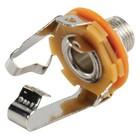Valueline Stereoconnector 6.35 mm Female Metaal Zilver