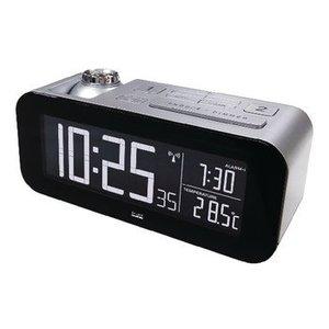 Balance Zendergestuurde Wekker LCD Zilver / Zwart