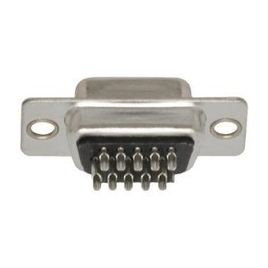 Valueline Computer Plug D-Sub 15-Pins HD Female Zilver