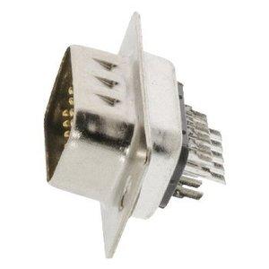 Valueline Computer Plug D-Sub 15-Pins HD Male Zilver