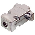 Valueline Computer Plug D-Sub 9-Pins Hood Zilver
