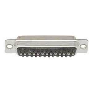 Valueline Computer Plug D-Sub 25-Pins Female Zilver