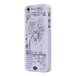 Mosaic Theory Smartphone Hard-case iPhone 5s Imitatieleer Wit / Paars