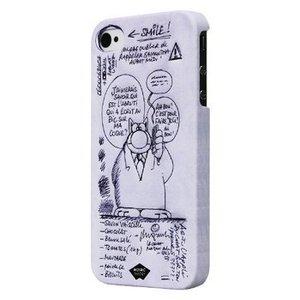 Mosaic Theory Smartphone Hard-case iPhone 4s Imitatieleer Grijs