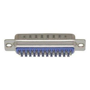 Valueline Computer Plug D-Sub 25-Pins Male Zilver