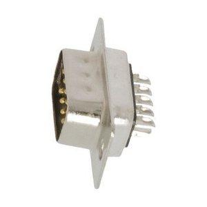 Valueline Computer Plug D-Sub 9-Pins Male Zilver