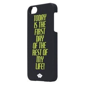 Mosaic Theory Smartphone Hard-case iPhone 5s Imitatieleer Zwart / Geel