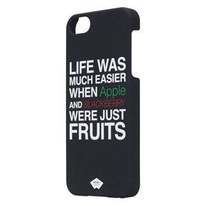 Mosaic Theory Smartphone Hard-case iPhone 5s Imitatieleer Zwart / Wit