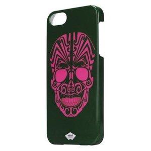 Mosaic Theory Smartphone Hard-case iPhone 5s Imitatieleer Paars / Groen