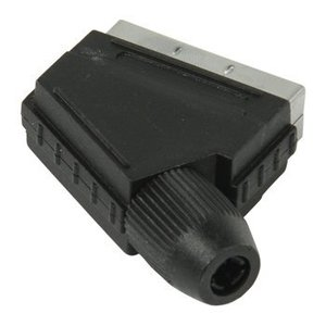Valueline Connector SCART Male PVC Zwart