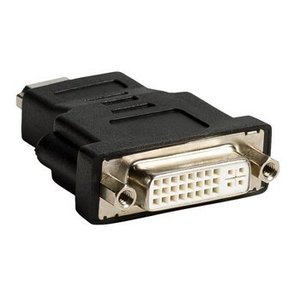 Valueline High Speed HDMI met Ethernet Adapter HDMI-Connector - DVI-D 24+1-Pins Female Zwart