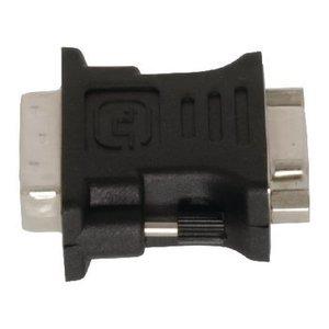 Valueline DVI Adapter DVI-I 24+5-Pins Male - VGA Female 15-Pins Zwart