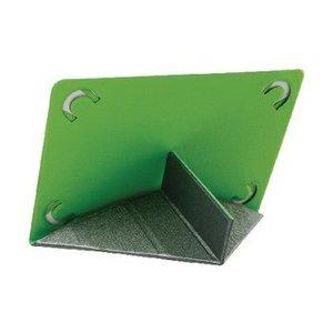 "Mosaic Theory Tablet Folio-case 10-12"" Imitatieleer Grijs / Groen"