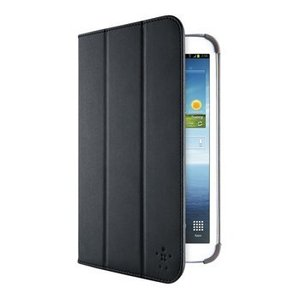 "Belkin Tablet Folio-case Galaxy Tab 3 8"" Imitatieleer Zwart"
