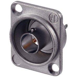Neutrik BNC appliance socket with flange 75 Ohm