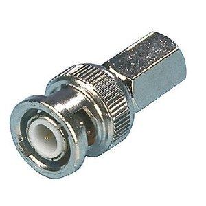 Valueline Connector BNC Male Metaal Zilver