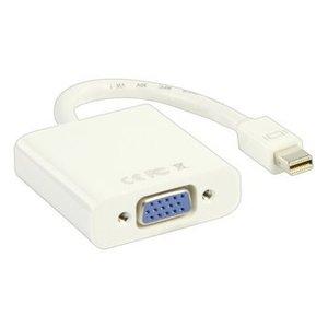 Valueline Mini DisplayPort Kabel Mini-DisplayPort Male - VGA Female 15-Pins 0.20 m Wit