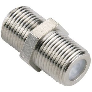 Bandridge Antenne Adapter F-Connector Female - F-Connector Female Zilver