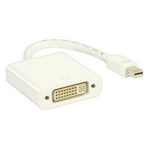 Valueline Mini DisplayPort Kabel Mini-DisplayPort Male - DVI-I 24+5-Pins Female 0.20 m Wit