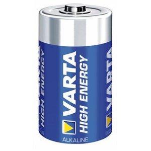 Varta Alkaline Batterij D 1.5 V High Energy 2-Blister