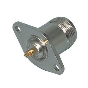 Valueline Connector N Female Metaal Zilver