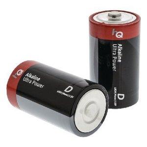 HQ Alkaline Batterij D 1.5 V 2-Blister