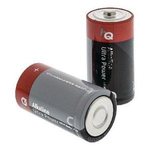 HQ Alkaline Batterij C 1.5 V 2-Blister