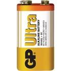 GP Alkaline Batterij 9 V Ultra 1-Blister