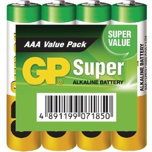 GP Alkaline Batterij AAA 1.5 V Super 192-Display