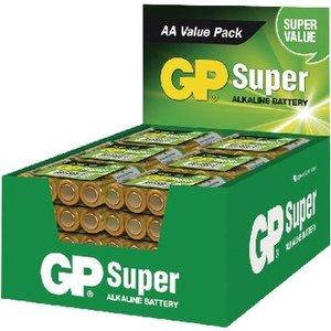 GP Alkaline Batterij AA 1.5 V Super 192-Display