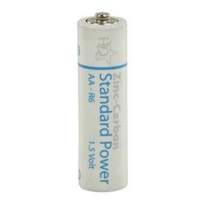 HQ Zink-Koolstof Batterij AA 1.5 V 4-Shrink Pack