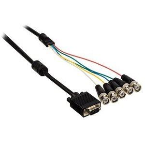 Valueline VGA Kabel VGA Male - 5x BNC Male 2.00 m Zwart