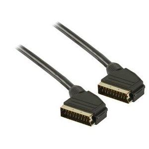Valueline SCART Kabel SCART Male - SCART Male 3.00 m Zwart