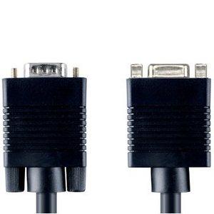Bandridge VGA Verlengkabel VGA Male - VGA Female 15-Pins 2.00 m Zwart